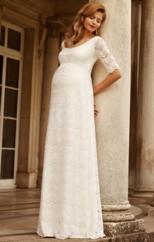 ff26e10154 Tiffany Rose Verona svadobné šaty pre tehotné nevesty