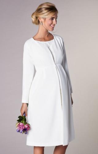de7f8c43fbc4 Tiffany Rose Christie kabátik pre tehotné na svadbu