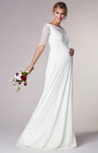 b1fd7d67211d Tiffany Rose Evie tehotenské svadobné šaty vo vintage štýle