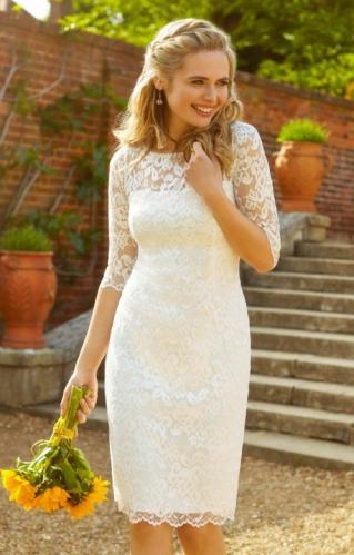 f859a7e6e00e Alie Street Lila svadobné šaty s rukávmi
