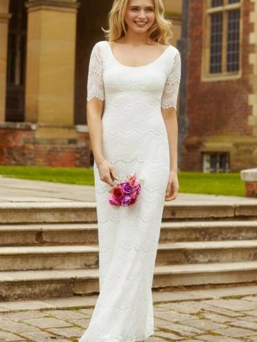 42ea3507c11f Alie Street Claudia svadobné šaty jednoduché dlhé