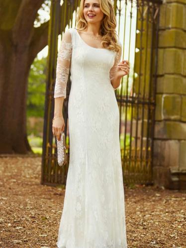 a9fe6564c985 Alie Street Maria svadobné šaty čipkované