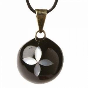 Babylonia Bola black pearl flower