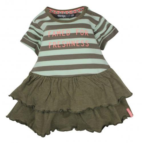 998ca186fe4f Dirkje Dievčenské šaty Freshness - tmavo zelené