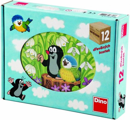 Dino Kocky kubus Krtko a vtáčik