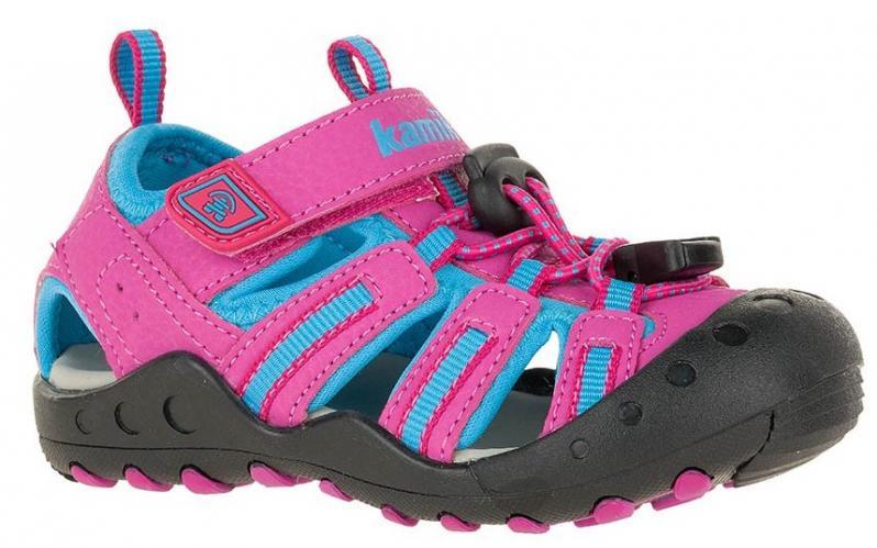 d05b54e32c17 Kamik Dievčenské sandále CRAB - ružové