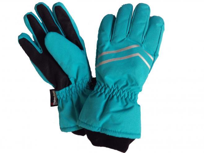c48b74ebb Bugga Chlapčenské lyžiarske prstové rukavice - modré