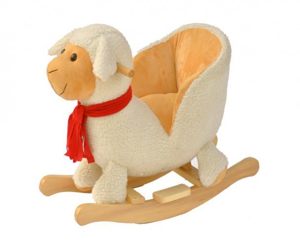 BabyGO Hojdacie kreslo - ovečka