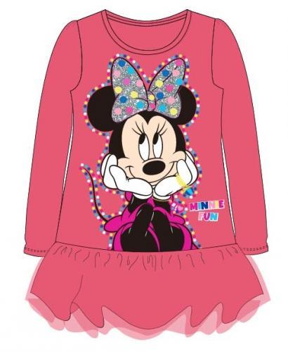 E plus M Dievčenské šaty Minnie - ružové 40fb620f458