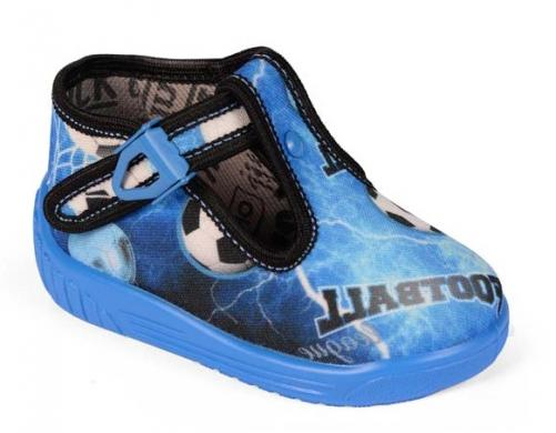 Raweks Chlapčenské papučky Ula - modré