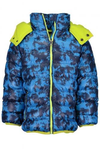 c8610c43a009 Blue Seven Chlapčenská bunda - modro-zelená