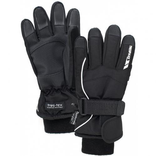 48005b4c3 Trespass Detské lyžiarske rukavice Ergon - čierne