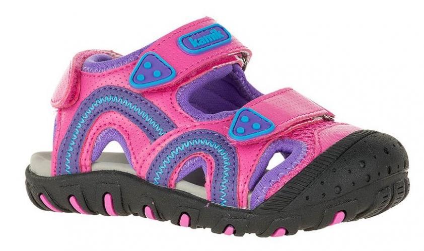 3bec546cb473 Kamik Dievčenské sandále SEATURTLE - ružovo-fialové