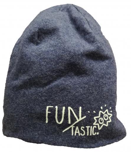 Broel Chlapčenská čiapka Basic 76 - modrá