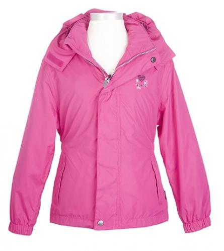Nickel sportswear Dievčenská nepremokavá bunda - ružová