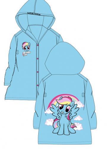 E plus M Dievčenská pláštenka My little Pony - tyrkysová