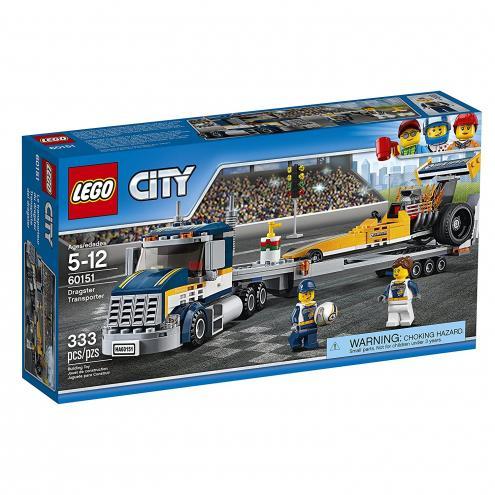 LEGO® City Great Vehicles 60151 Transportér dragsteru