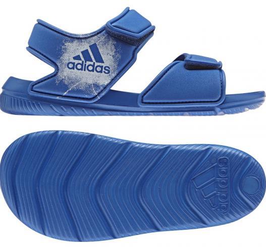 27cb0128b adidas Detské sandále AltaSwim C - modré