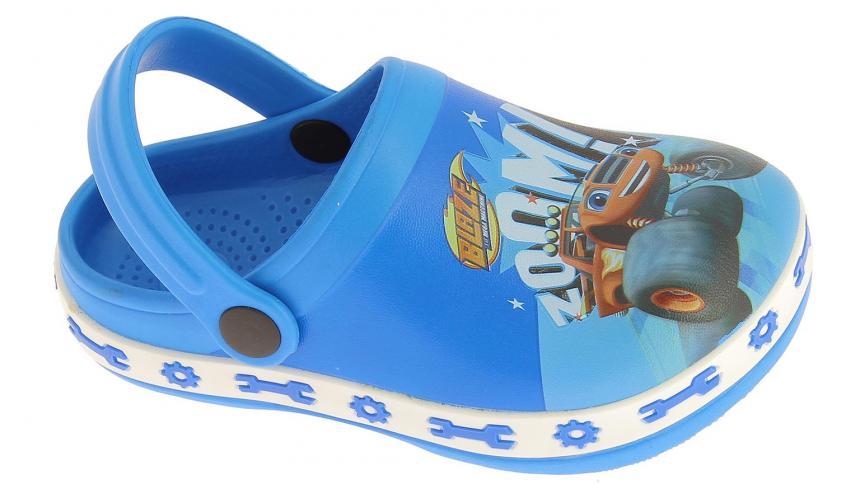 Disney by Arnetta Chlapčenské sandále Blaze - modré