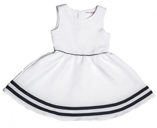 Minoti Dievčenské šaty - biele