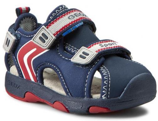 49337178ad54 Geox Chlapčenské sandále B Sandal Multy Boy - tmavo modré