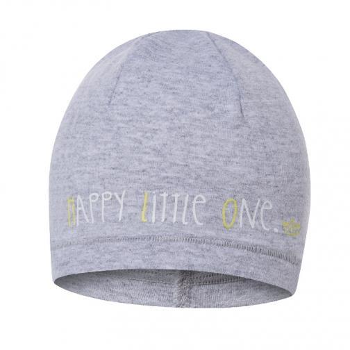 Broel Chlapčenská čiapka Basic - šedá