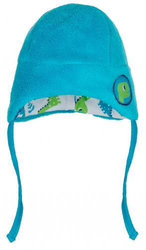 G-mini Chlapčenská čiapka Dino - modrá