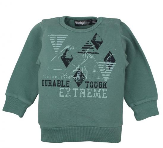 Dirkje Chlapčenská mikina Extreme - zelená
