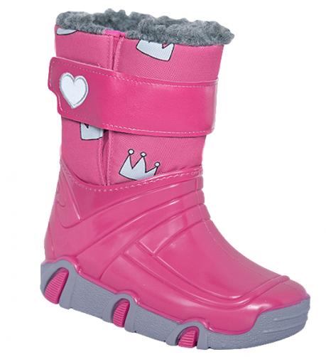 db03b226b666b Zetpol Dievčenské snehule Winter - ružové