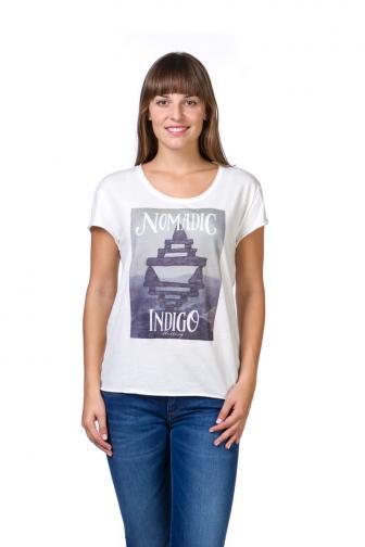 Mustang Dámske tričko 8845_1544_aw15 smotanová