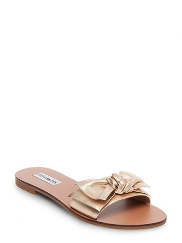 f40decd66b82 Steve Madden Dámske sandále 91000356-0S0 Gold Metallic