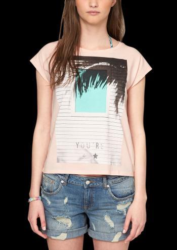 s.Oliver Dámske tričko 322403_505de ružová
