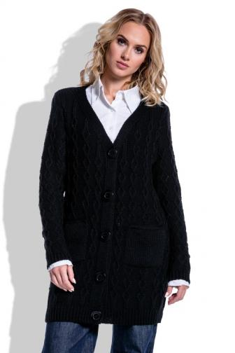 Fimfi Dámsky sveter I203_Black