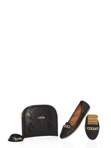 Rollbab Dámske balerínky a taška CL24020