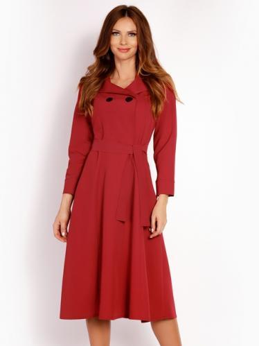 Lou-Lou Dámske šaty L016_claret