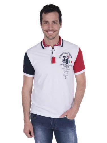 777d065d2122 Giorgio Di Mare Pánske polo tričko GI2356884 White