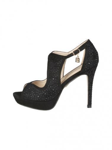 6cad18e670d6 Laura Biagiotti Dámske sandále 421 CLOTH BLACK