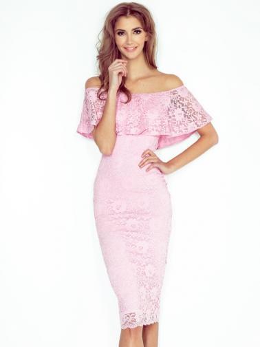 Morimia Dámske šaty MM 013-2_peach