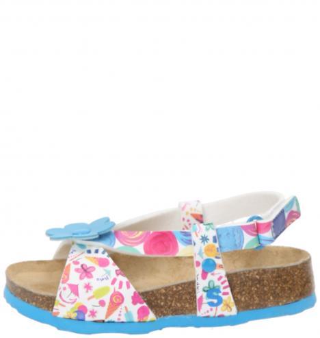 2e8ef52b6dca9 Desigual farebné dievčenské sandálky Bio 3