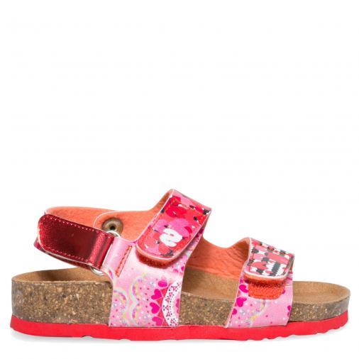 6c1fe63c9ca3c Desigual farebné dievčenské sandále Bio Velcros Trazos