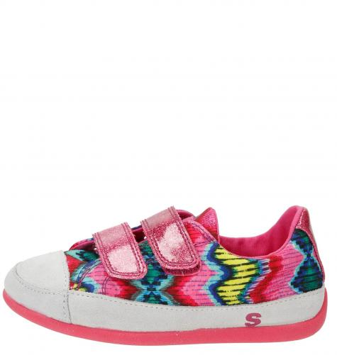 319c09b6f617f Desigual ružové dievčenské tenisky Mini Happy