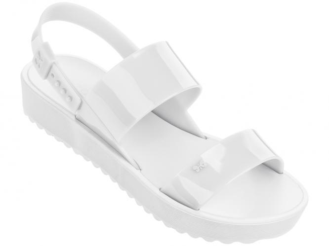 Zaxy biele sandále Clubber Sand Plat White