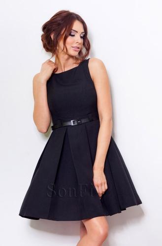 fef95e7f1878 Čierne spoločenské šaty 6-4 Numoco nm-sat06bl