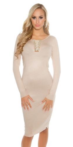 Dámske šaty z pleteniny Koucla in-sat1394be