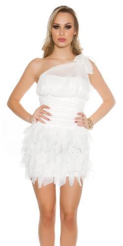 e9cc34303731 Večerné biele dámske šaty Koucla in-sat1429wh