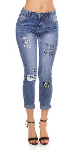 8ae7bc63a 7/8 Skinny Jeans Koucla in-ri1407