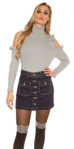 Dámska džínsová sukňa Koucla in-su1166