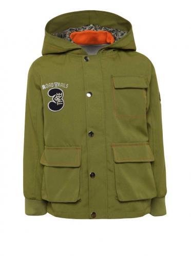 b42752ad3 Zelená chlapčenská nepremokavá bunda s mikinou 2v1 5.10.15.