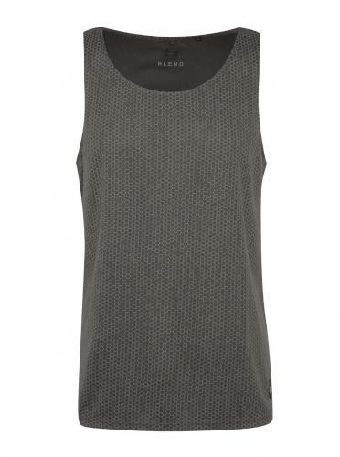 Sivé vzorované športové tričko Blend