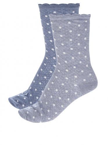 abf7460044d61 Súprava dvoch párov dámskych ponožiek v modrej farbe Tommy Hilfiger Classy  cocktail